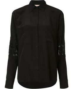 LOYD/FORD | Embellished Elbows Shirt 6 Silk