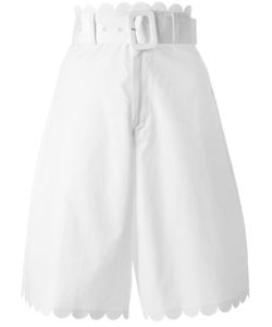 See By Chloe | See By Chloé Scalloped Shorts 36 Cotton