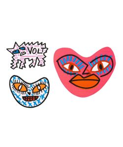 HOUSE OF VOLTAIRE | Matty Bovan Limited Edition Patch Set Polyester