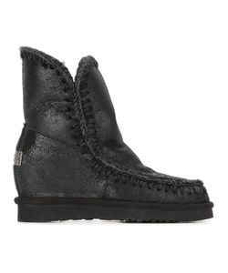 Mou | Eskimo Boots 38 Leather/Sheep Skin/Shearling/Rubber