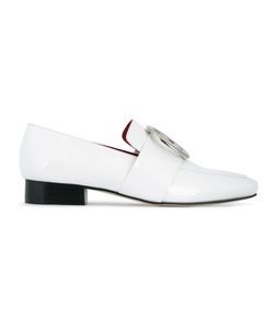 DORATEYMUR   Harput Loafers Womens Size 38.5 Patent Leather/Leather/Metal