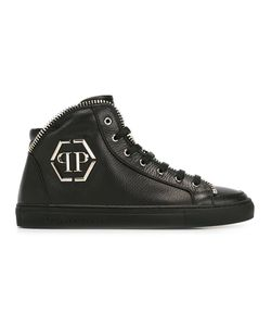 Philipp Plein | Anniston Hi-Top Sneakers 39 Leather/Rubber