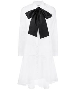 OSMAN | Bow Detail Shirt Dress 6 Cotton