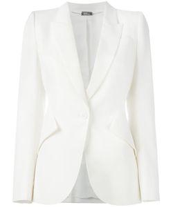 Alexander McQueen | Tailored Blazer 42 Virgin Wool/Cupro
