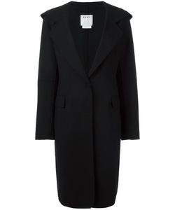 DKNY | Hooded Coat Medium Polyester/Wool/Spandex/Elastane
