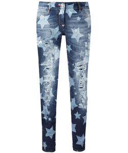 Philipp Plein | Morgana Straight-Leg Jeans 28 Cotton/Spandex/Elastane/Polyester