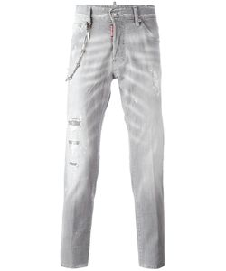 Dsquared2 | Cool Guy Chain Trim Jeans 54 Cotton/Spandex/Elastane