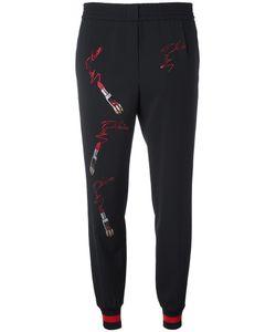 Philipp Plein | Loose-Fit Track Pants Small Cotton/Viscose/Spandex/Elastane