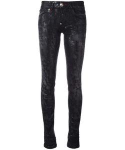 Philipp Plein | Dipelta Skinny Jeans 25 Cotton/Polyester/Spandex/Elastane/Cotton