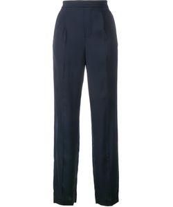 Vince | Straight-Leg Trousers Small Viscose/Spandex/Elastane