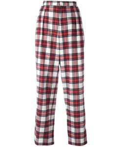 Each X Other | Tartan Slouchy Pants Small Cotton