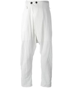 Lost & Found Ria Dunn | Folded Front Pinstripe Trousers