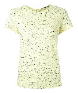 Proenza Schouler   Splatter Print T-Shirt Small Cotton