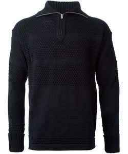 S.N.S. HERNING | Fisherman Zip Neck Sweater Virgin Wool