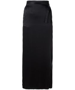 Ann Demeulemeester | Blanche Straight Skirt 34 Silk/Cotton/Rayon