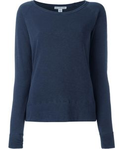 James Perse | Scoop Neck Sweatshirt Medium Cotton