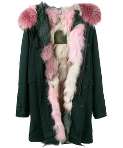 MR & MRS Italy | Fur Lined Hooded Parka Small