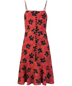 Suno | Print Fla Dress 4 Silk/Spandex/Elastane