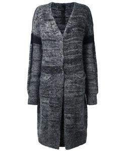 Ilaria Nistri | Open Cardi-Coat Small Polyamide/Mohair/Alpaca/Merino