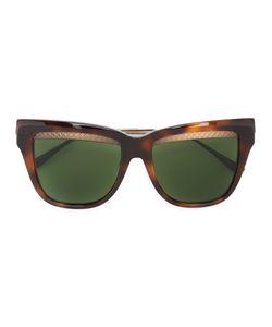 Bottega Veneta Eyewear | Square Cat Eye Sunglasses Acetate/Metal Other