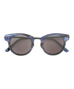 Bottega Veneta Eyewear | Marble Effect Sunglasses Adult Unisex Metal Other