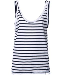 Bassike | Striped Relaxed Tank Top 14 Organic Cotton