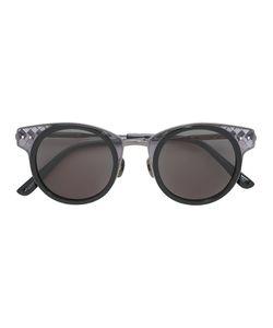 Bottega Veneta Eyewear | Intrecciato Embossed Sunglasses Adult Unisex Metal Other/Acetate