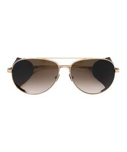 Bottega Veneta Eyewear | Intrecciato Detail Sunglasses Adult Unisex Titanium