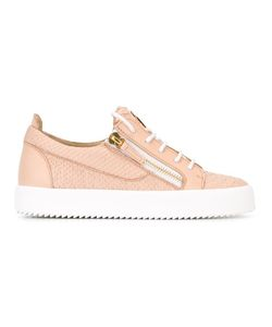 Giuseppe Zanotti Design | Frankie Low-Top Sneakers 36 Leather/Rubber