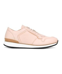 Number 288 | Bleeker Sneakers 42 Calf Leather/Camel Leather/Rubber