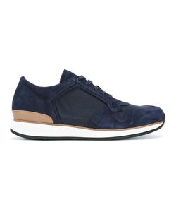 Number 288 | Bleeker Sneakers 43 Calf Leather/Camel Leather/Rubber/Nylon