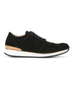 Number 288 | Bleeker Sneakers 44 Calf Leather/Camel Leather/Rubber