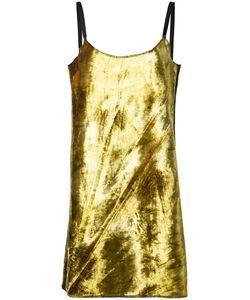 ECKHAUS LATTA   Mini Slip Dress Small Polyester/Rayon