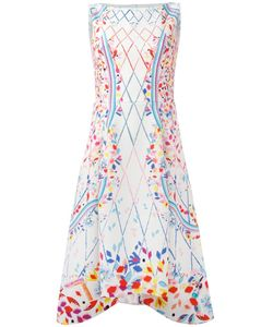 Peter Pilotto | Printed Sleeveless Dress Size 14 Polyester/Spandex/Elastane/Acetate