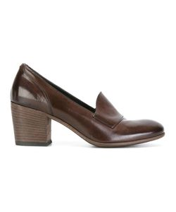 Pantanetti | Block Heel Pumps 36 Leather/Rubber