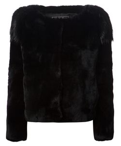 Unconditional   Beaver Fur Shoulder Jacket Medium Rabbit Fur/Beaver