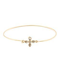 MATHILDE DANGLADE | Diamond Flower Bracelet