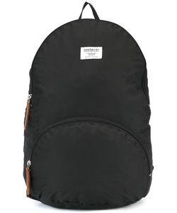 Sandqvist | Neil Backpack Nylon/Buffalo Leather