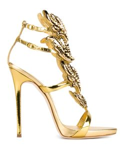 Giuseppe Zanotti Design | Cruel Sandals 39.5 Leather/Metal