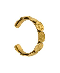 Chanel Vintage | Cc Logo Medallion Bangle
