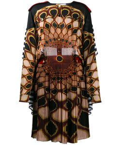 Givenchy | Kaleido Eye Printed Dress 36 Silk/Viscose/Wool