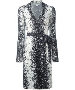 Diane Von Furstenberg | Splatter Print Wrap Dress 6