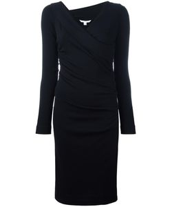 Diane Von Furstenberg | Crossover V-Neck Fitted Dress 4