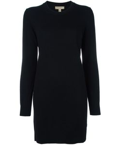 Burberry | Elbows Patch Knitted Dress Large Merino