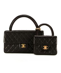 Chanel Vintage | Cc Two-In-One Bag Set