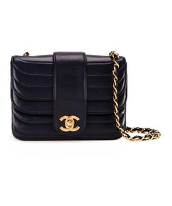 Chanel Vintage | Mini Cc Ruffled Shoulder Bag