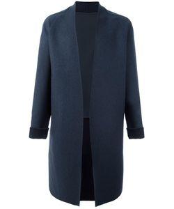 SYSTEM HOMME | Single Breasted Coat Small Wool/Polyurethane/Nylon