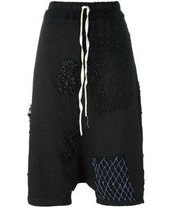 BY WALID | Drop Crotch Cropped Pants Medium Cotton
