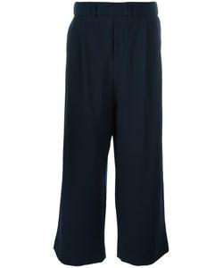 Lucio Vanotti | Cropped Trousers 6 Cotton/Virgin Wool/Spandex/Elastane