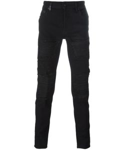 MARCELO BURLON COUNTY OF MILAN | Distressed Slim Jeans 30